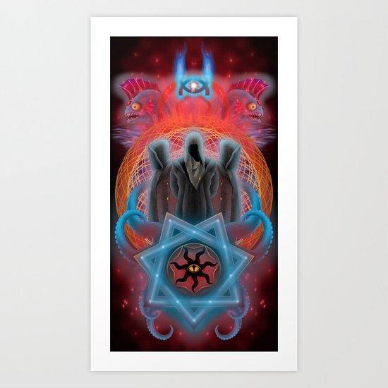 The Secret Keepers of Dagon Art Print