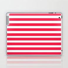 Red Lines Laptop & iPad Skin