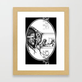 For Zanna - Illustration Framed Art Print