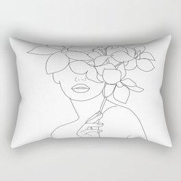 Lady Orchidea Rectangular Pillow