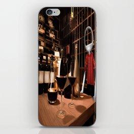 Corky in the cellar iPhone Skin