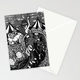 Dark Circus Stationery Cards