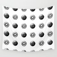 kiwi Wall Tapestries featuring Kiwi Dots by Cindy Lou Bailey