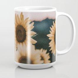 sunflowers / sunset Coffee Mug