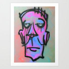 Zombie 1ne Art Print