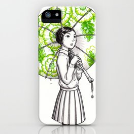 Elemental Schoolgirls  -  Bloom iPhone Case
