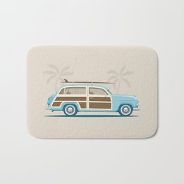 Iconic Surf Car Bath Mat