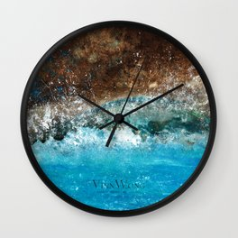 Distant Shores Wall Clock