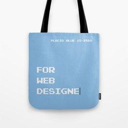 BDFD - Web Designer Tote Bag