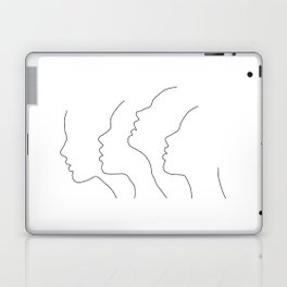 Side Faces Laptop & iPad Skin