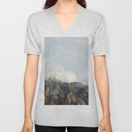 Mountain Peak Unisex V-Neck