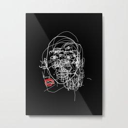 Mixed emotions Metal Print