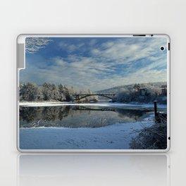 River View - Finally Looks Like Winter Laptop & iPad Skin
