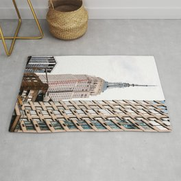 Empire State Building in New York Rug