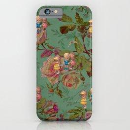 Hooping in The Rose Garden iPhone Case