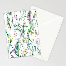 Fleur botanique Stationery Cards