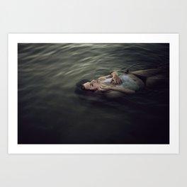 Drowned soul Art Print