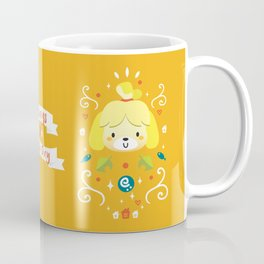 Animal Crossing: Isabelle Coffee Mug