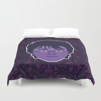 harry Duvet Covers featuring Harry by Kuki