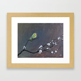 Perch Framed Art Print