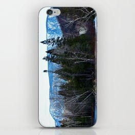 Blue Mountain River iPhone Skin