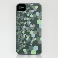 Hexagonal / cool Slim Case iPhone (4, 4s)