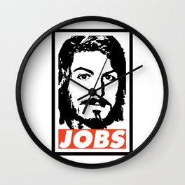 JOBS Wall Clock