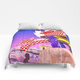 Pop Art Surrealism Comforters
