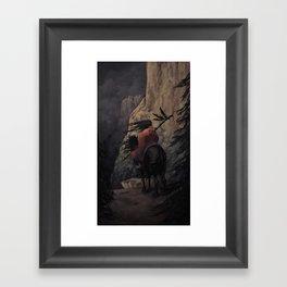 The Stormseeker Framed Art Print