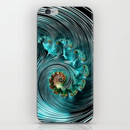 Aqua Supreme iPhone Skin