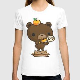Cute Kuma Brown Bear T-shirt