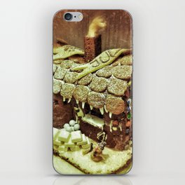 Christmas Gingerbread House iPhone Skin