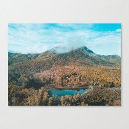 EXPLORE - Mountain Outside Chiang Mai Thailand Canvas Print