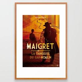 Maigret Framed Art Print
