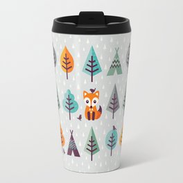 FOX IN THE FOREST Travel Mug