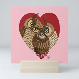 One Heart Mini Art Print