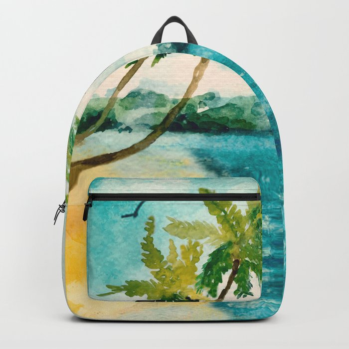 Palm Trees 1 Backpack