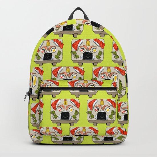 Pug Sushi Backpack