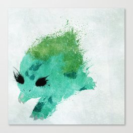 #001 Canvas Print