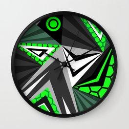 Mech Alien Wall Clock