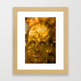 Idea Man Framed Art Print
