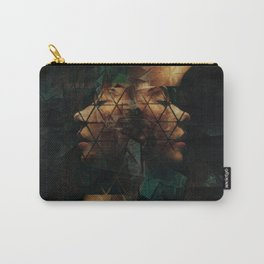 Modern Cubist Carry-All Pouch