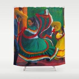 Baile Folklorico Shower Curtain