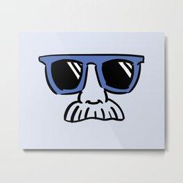 Too Cool (blue) Metal Print