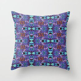 Frog Pixelation Throw Pillow