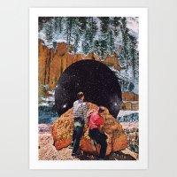 vertigo Art Prints featuring Vertigo by Brandon Dail