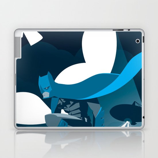 Knight Over Gotham Laptop & iPad Skin
