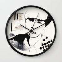 exo Wall Clocks featuring Love Me Right - Suho by emametlo