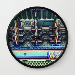 Gyenbokgung detailing Wall Clock