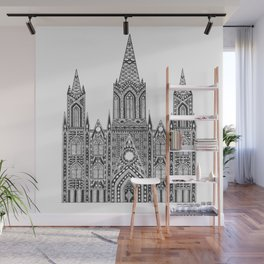 Cathedral (Barcelona) Wall Mural